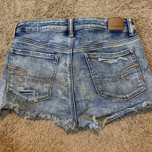 American Eagle High Rise Jean shorts!